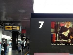 byman Personal Binario Stazione Roma Termini
